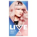 Schwarzkopf Live Lightener + Twist 101 Cool Rose Hair Dye