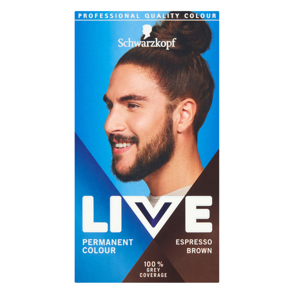 Schwarzkopf Live Men  Espresso Brown 880 Permanent Hair Dye