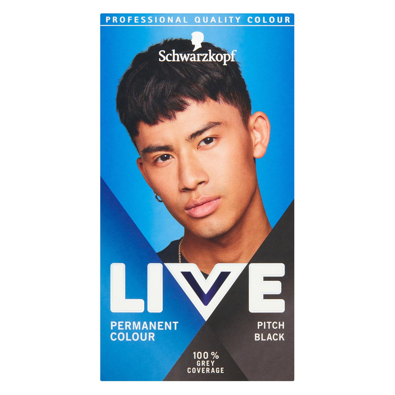 Schwarzkopf Live Men Pitch Black 099 Permanent Hair Dye