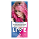 Schwarzkopf Live Ultra Brights Or Pastel 93 Shocking Pink Semi Permanent Hair Dye