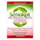 Senokot Max Strength Tablets 12 Years Plus