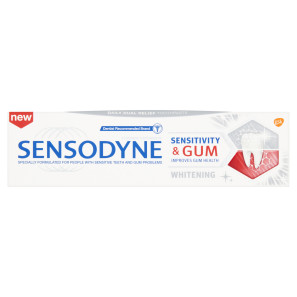 Sensodyne Sensitivity and Gum Toothpaste Whitening