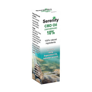 Serenity CBD Oil Drops 10%