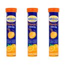 Seven Seas Haliborange Effervescent Vitamin C Orange- Triple Pack