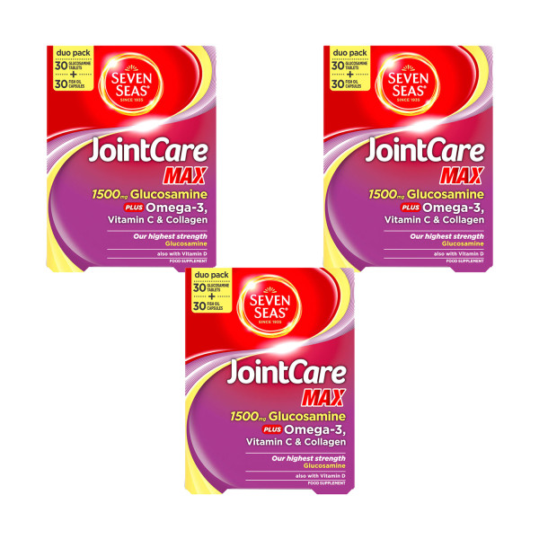 Seven Seas JointCare Max Triple Pack