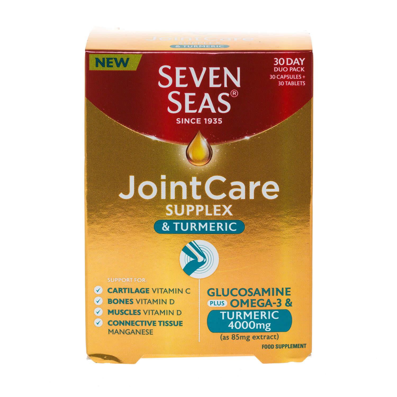 Seven Seas JointCare Supplex & Turmeric Capsules & Tablets