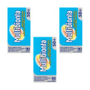 Seven Seas Multibionta 50+ Probiotic Multivitamin- Triple Pack