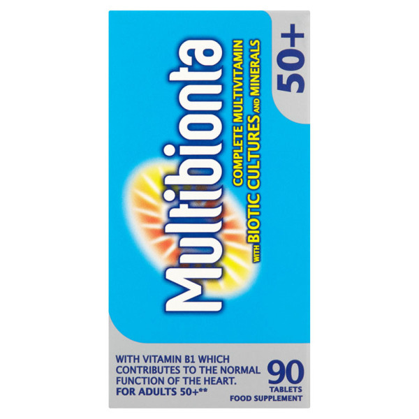 Seven Seas Multibionta 50+ Multivitamin Tablets