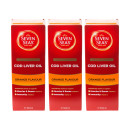 Seven Seas Orange Syrup & Cod Liver Oil Liquid- Triple Pack