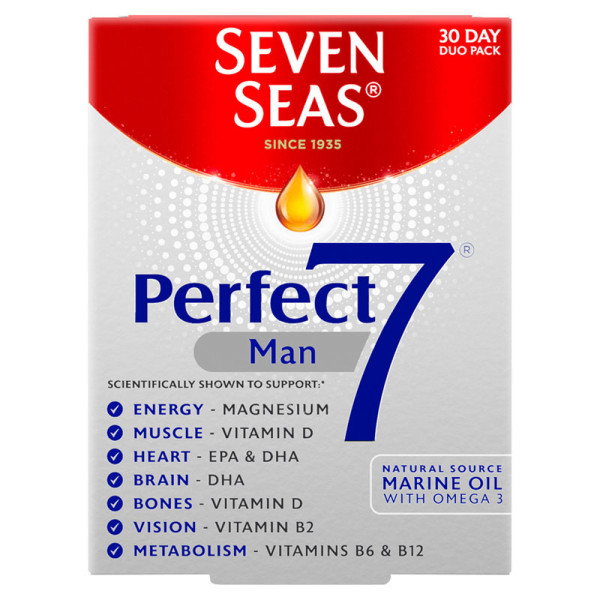 Seven Seas Perfect7 Man Capsules & Tablets