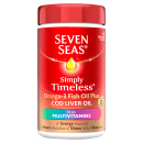 Seven Seas Simply Timeless Cod Liver Oil Plus Multivitamin Capsules