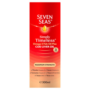 Seven Seas Cod Liver Oil Maximum Strength Liquid