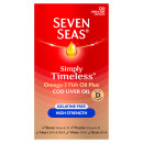 Seven Seas Cod Liver Oil High Strength Gelatine Free Capsules