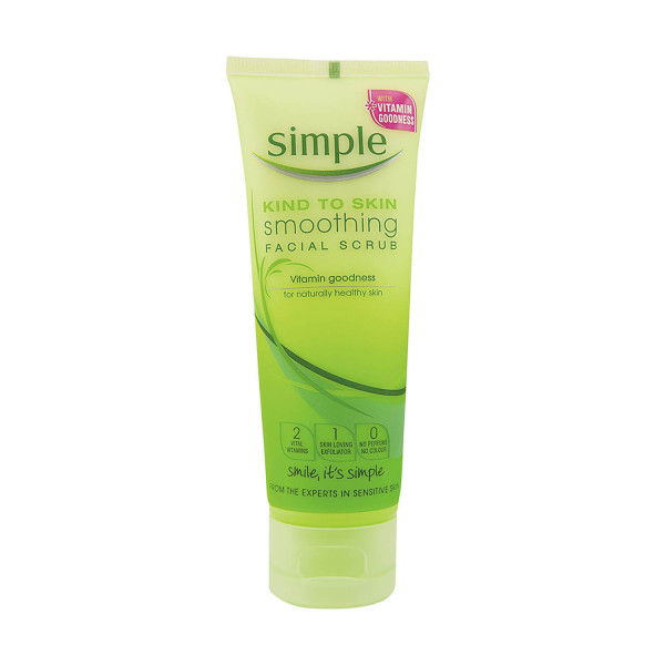 Simple Cleansing Scrub Smoothing