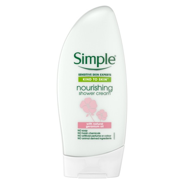 Simple Kind to Skin Nourishing Shower Gel