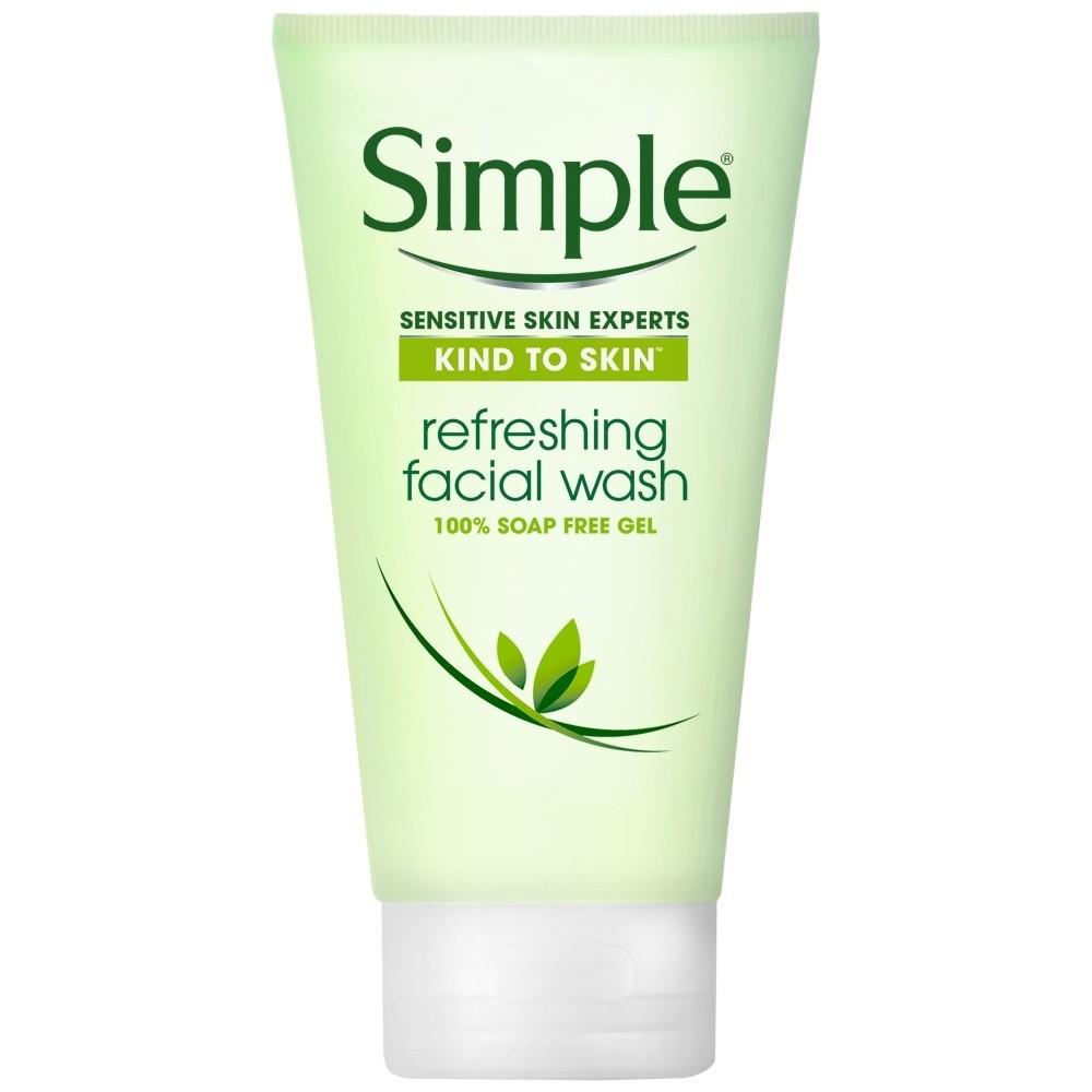 Simple Refreshing Facial Wash for Sensitive Skin