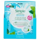 Simple Water Boost Hydrating Cleansing Wipes