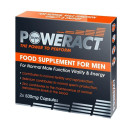 Skins Poweract Food Supplement Capsules for Male Function Vitality and Energy