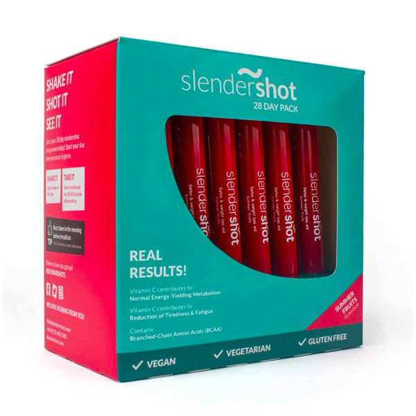 Slendershot 28 Day Weight Loss and Detox Supplement