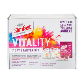 SlimFast Advanced Vitality 7 Day Starter Kit