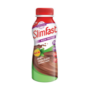 SlimFast Chocolate Mint Flavour Shake 325ml EXP AUG 19