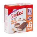 SlimFast Nutty Nougat Snack Bars 6 Pack