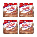 Slimfast Milkshake Multipack Bottle Latte  (6x 325ml) x 4
