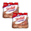 Slimfast Milkshake Multipack Bottle Latte - Twin Pack