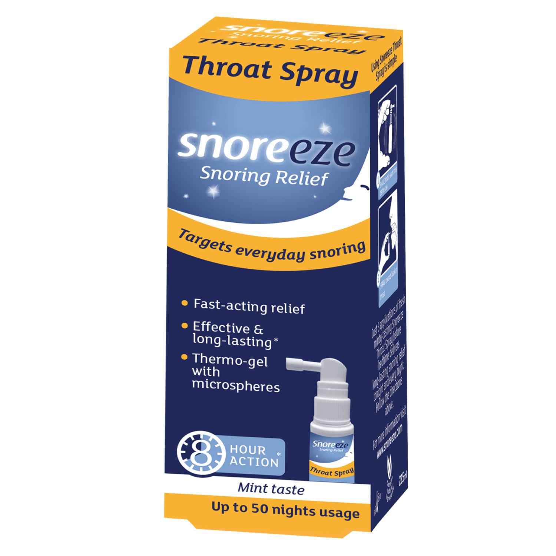 Snoreeze Throat Spray