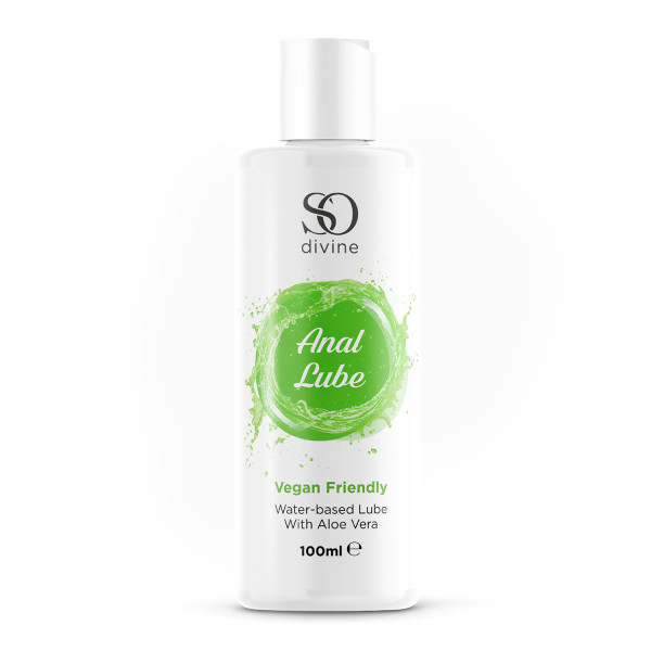 So Divine Anal Lubricant with Aloe Vera - Vegan Friendly 100ml
