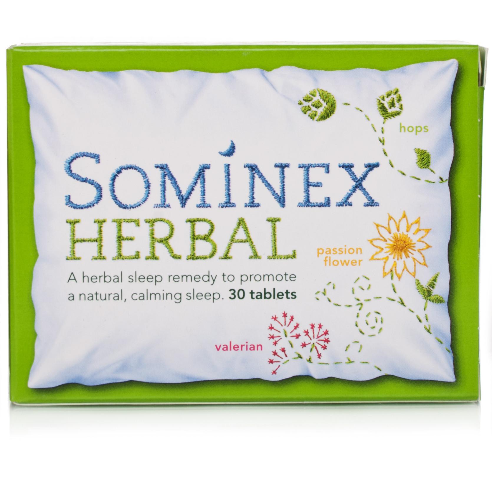 Sominex Herbal Tablets