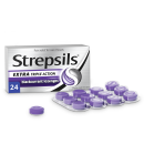 Strepsils Extra Triple Action Blackcurrant Lozenges