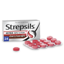 Strepsils Extra Triple Action Cherry