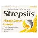 Strepsils Honey & Lemon 36s