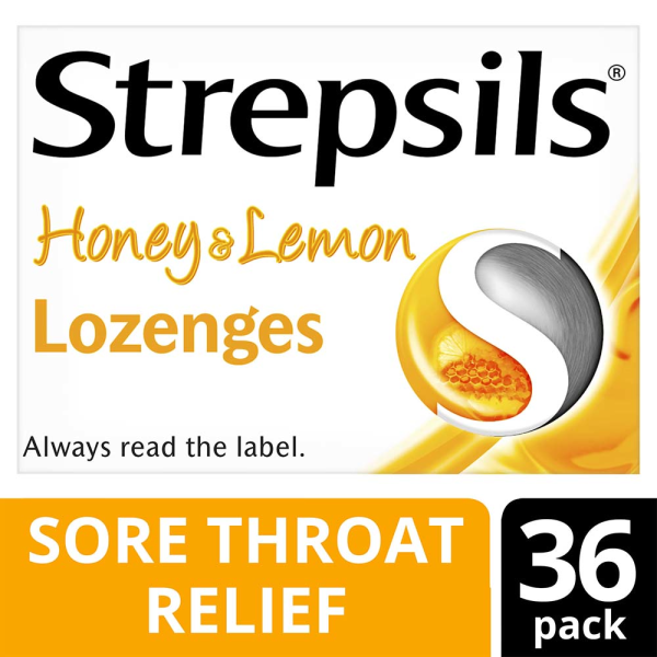 Strepsils Honey & Lemon Lozenges