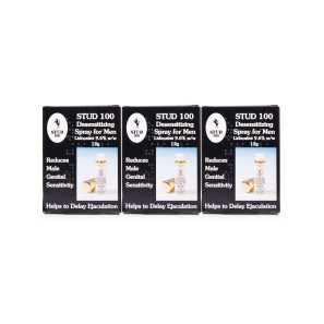 Stud 100 Desensitizing Spray For Men Triple Pack