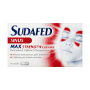 Sudafed Congestion & Headache Relief Max Strength Capsules 16s