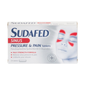 Sudafed Sinus Pressure & Pain Tablets