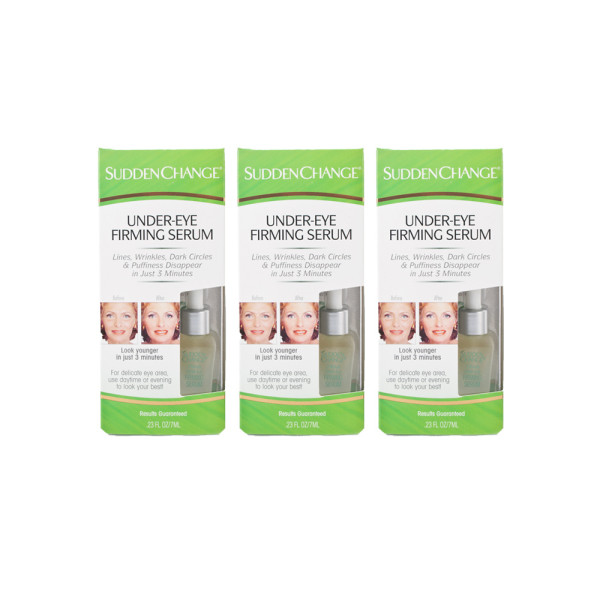 Sudden Change Under Eye Firming Serum Triple Pack