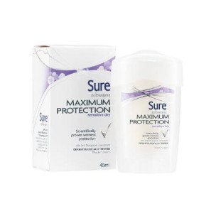 Sure Women Antiperspirant Deodorant Cream Sensitive