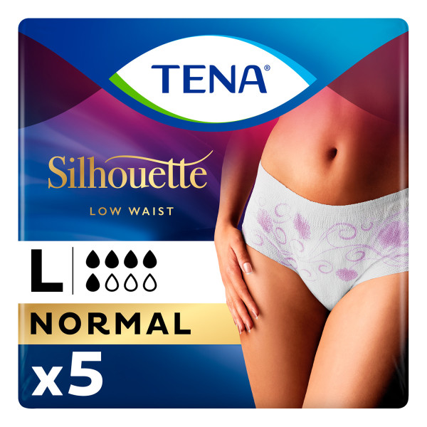 TENA Silhouette Normal Blanc Large