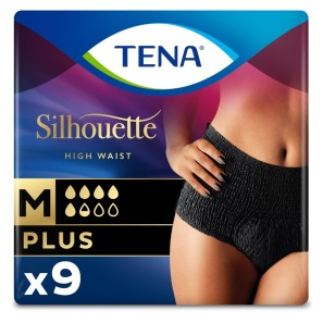 TENA Silhouette Plus Noir Incontinence Pants Medium