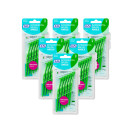 TePe Angle Interdental Brush Green 6 Pack