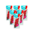 TePe Angle Interdental Brush Red 6 Pack