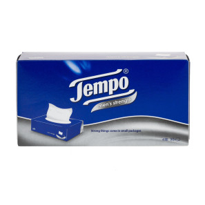 Tempo Mens Strength Tissues - 12 Pack