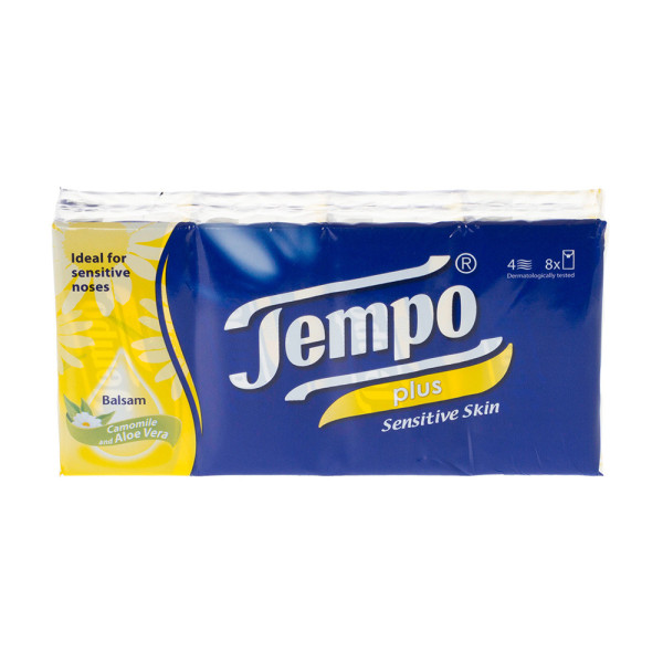 Tempo Pocket Tissues - 96 Packs