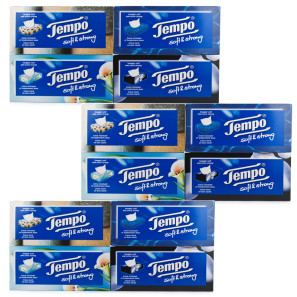 Tempo Soft & Strong Regular Multipack
