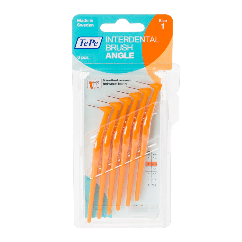 TePe Angle Interdental Brush Orange