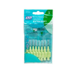 Tepe Extra Soft Interdental Brushes Green
