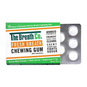 The Breath Co Fresh Breath Chewing Gum